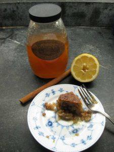 Armenian syrup cake w honey gfzing
