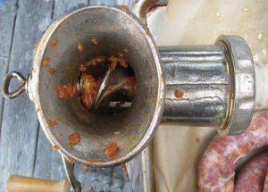 Archimedes Screw - sausage grinder - Alice DeLuca 2012 digimarc