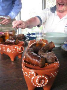 Linguica roasting - Alice DeLuca 2012 digimarc